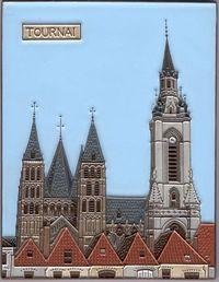 Cathédrale et beffroi de Tournai